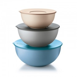 Set of 3 Containers with Lids Ø28cm - EveryWhere Assorted - Guzzini GUZZINI GZ29260152