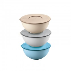 Set of 3 Containers with Lids Ø16cm - EveryWhere Assorted - Guzzini GUZZINI GZ29260252