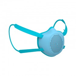 Kid Eco-Friendly Protective Mask Blue - Eco-Mask - Guzzini Protection