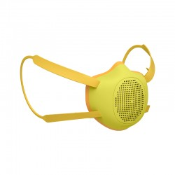 Kid Eco-Friendly Protective Mask Yellow - Eco-Mask - Guzzini Protection