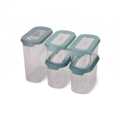 Storage Containers 5-piece Set - CupboardStore Opal - Joseph Joseph JOSEPH JOSEPH JJ81113