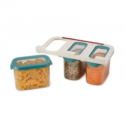 Under-shelf Storage Container Set 1,3lt - CupboardStore Dark Opal - Joseph Joseph JOSEPH JOSEPH JJ81112