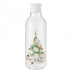 Water Bottle 750ml Xmas - Drink-It Moomin White - Rig-tig RIG-TIG RTZ00701-2