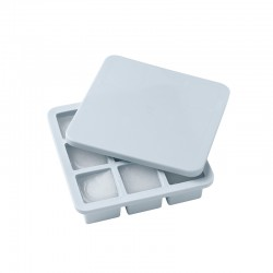 Large Ice Tray with Lid - Freeze-It Light Blue - Rig-tig RIG-TIG RTZ00551