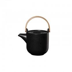 Teapot with Wooden Handle 600ml – Coppa Kuro Black - Asa Selection ASA SELECTION ASA19371190