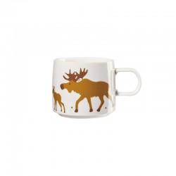 Mug Moose Family - Muga Xmas White, Black And Gold - Asa Selection ASA SELECTION ASA29097690