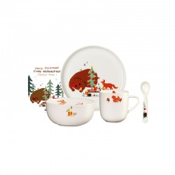Set of 5 Pcs for Kids Tableware - Christmas for Bruno - Asa Selection ASA SELECTION ASA38960314