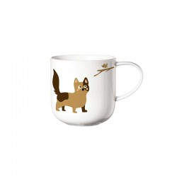 Mug Hunting Cats - Coppa Cats&Dogs White - Asa Selection