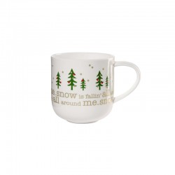 Mug Snow is Falling - Coppa Xmas White - Asa Selection