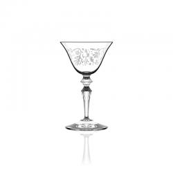 Conj. 6 Copos - Wormwood Astoria Pattern Transparente - Italesse