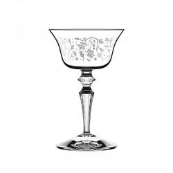 Juego 6 Copas - Wormwood Double Presidente Pattern Transparente - Italesse