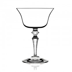 Set of 6 Glasses - Wormwood Double Presidente Clear - Italesse