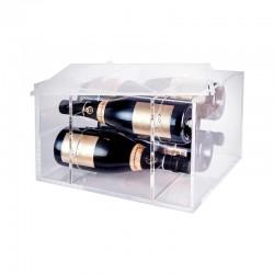 Caixa para Garrafas Transparente - Aria - Italesse