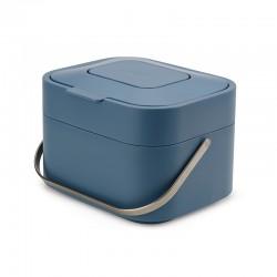 Food Waste Bin Stack4 Blue - Sky - Joseph Joseph