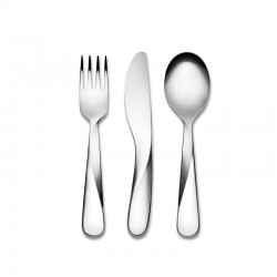 Children Cutlery Set - Giro Kids Orange - Alessi ALESSI ALESUNS06S3