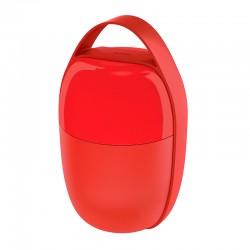 Marmita de 2 Compartimentos Vermelho - Food à Porter - Alessi ALESSI ALESSA03R
