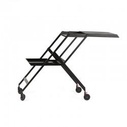 Folding Trolley - Plico Black - Alessi ALESSI ALESRS11B