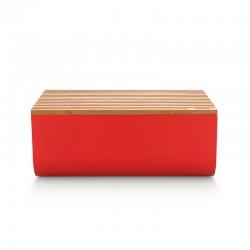 Caixa para Pão Vermelho - Mattina - Alessi