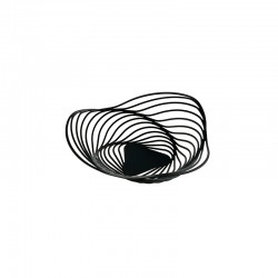 Citrus Basket Ø26Cm Black - Trinity - Alessi ALESSI ALESACO02B