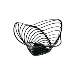 Citrus Basket Ø33cm Black - Trinity - Alessi ALESSI ALESACO04/16B