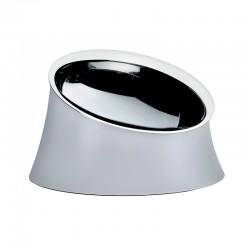 Taça para Cão Ø21cm Cinza - Wowl - A Di Alessi A DI ALESSI AALEBM13/21WG