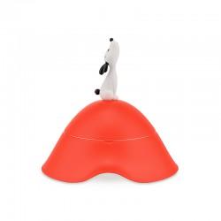 Taça para Cão Ø22cm Vermelho - Lulà - A Di Alessi A DI ALESSI AALEAMMI19RO