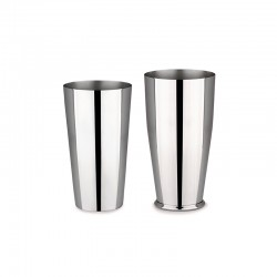 Shaker Americano ou Boston Prata - Mixology - Alessi ALESSI ALES5050I
