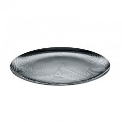 Tray Ø42cm - Veneer Silver - Alessi ALESSI ALESPU07