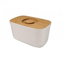 Caixa para Pão com Tábua Branco - Bread Bin - Joseph Joseph