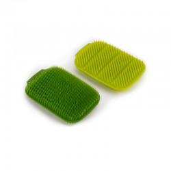 Juego de 2 Estropajos para Fregar Verde - CleanTech - Joseph Joseph JOSEPH JOSEPH JJ85156