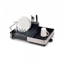 Steel Expandable Dish Drainer - Extend Black And Inox - Joseph Joseph JOSEPH JOSEPH JJ85153