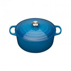 Tacho Cocotte Redondo 20cm Azul Marseille - Evolution - Le Creuset LE CREUSET LC21177202002430