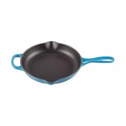 Frying Pan Skillet 23cm Cerise - Signature Marseille Blue - Le Creuset