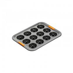 Molde para 12 Mini Bundt Preto - Le Creuset LE CREUSET LC46011000010100