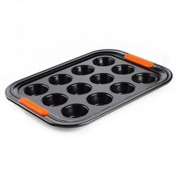 Molde para 12 Mini Cupcakes Preto - Le Creuset LE CREUSET LC94101300000000