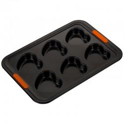 Molde para 6 Muffins Corazón Negro - Le Creuset LE CREUSET LC94103039000000