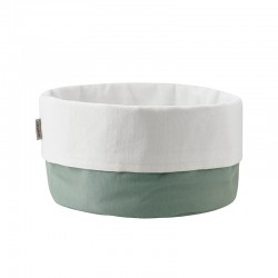 Bread Bag L - Dusty Green/White - Stelton