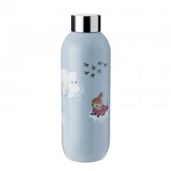 Drinking Bottle 750ml Cloud - Moomin Keep Cool - Stelton STELTON STT1372