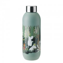 Drinking Bottle 750ml Dusty Green - Moomin Keep Cool - Stelton STELTON STT1372-3