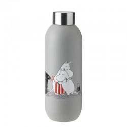Garrafa Térmica 750ml Cinza Claro - Moomin Keep Cool - Stelton STELTON STT1372-4