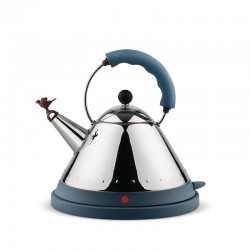Cordless Electric Kettle Blue - MG32 - Alessi ALESSI ALESMG32AZ