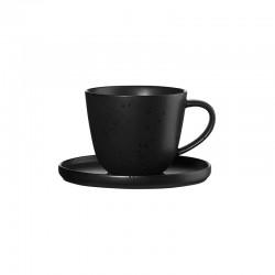 Coffee Cup With Saucer 250ml - Coppa Kuro Black - Asa Selection ASA SELECTION ASA19020190