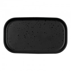 Snack Plate 15x8,5cm - Coppa Kuro Black - Asa Selection