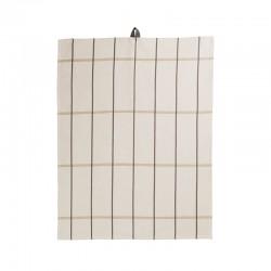 Pano de Cozinha 50x70cm Cru Quadrados - Textile - Asa Selection ASA SELECTION ASA37823065