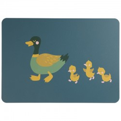 Placemat Duck Emil and Ducklings - Kids - Asa Selection