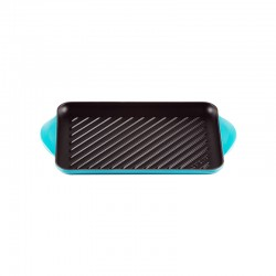 Rectangular Grill 32cm Teal - Tradition - Le Creuset LE CREUSET LC20202321700460