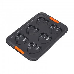 6 Tiered Heart Tray Black - Le Creuset LE CREUSET LC46018000010000