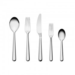 Set of 5 Cutlery Pieces - Amici - Alessi ALESSI ALESBG02S5