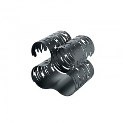 Bottle Rack Black - Barkcellar - Alessi ALESSI ALESBM03B