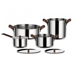 7-Pieces Cookware Set - Edo - Alessi ALESSI ALESPU100S7
